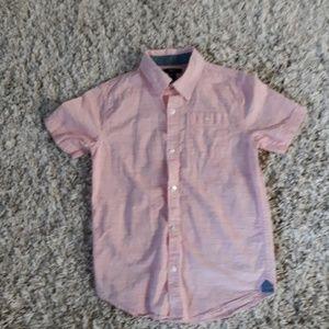 Boys short sleeved dress shirt
